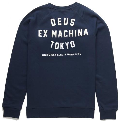 DEUS TOKYO ADDRESS CREW (NAVY)