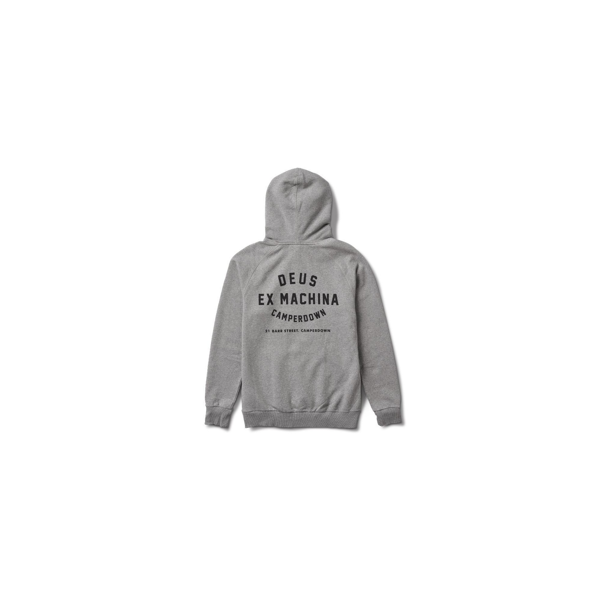DEUS CAMPERDOWN ADDRESS HOODIE